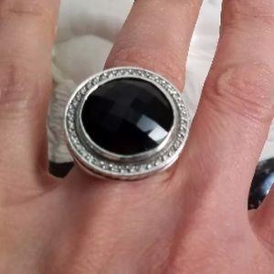 David Yurman Onyx Cerise Ring